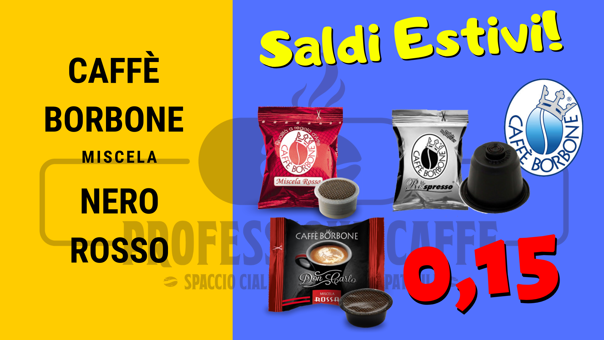 offerta borbone professionecaffe.it carate brianza